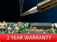 2 Year Warranty on any PCB repair
